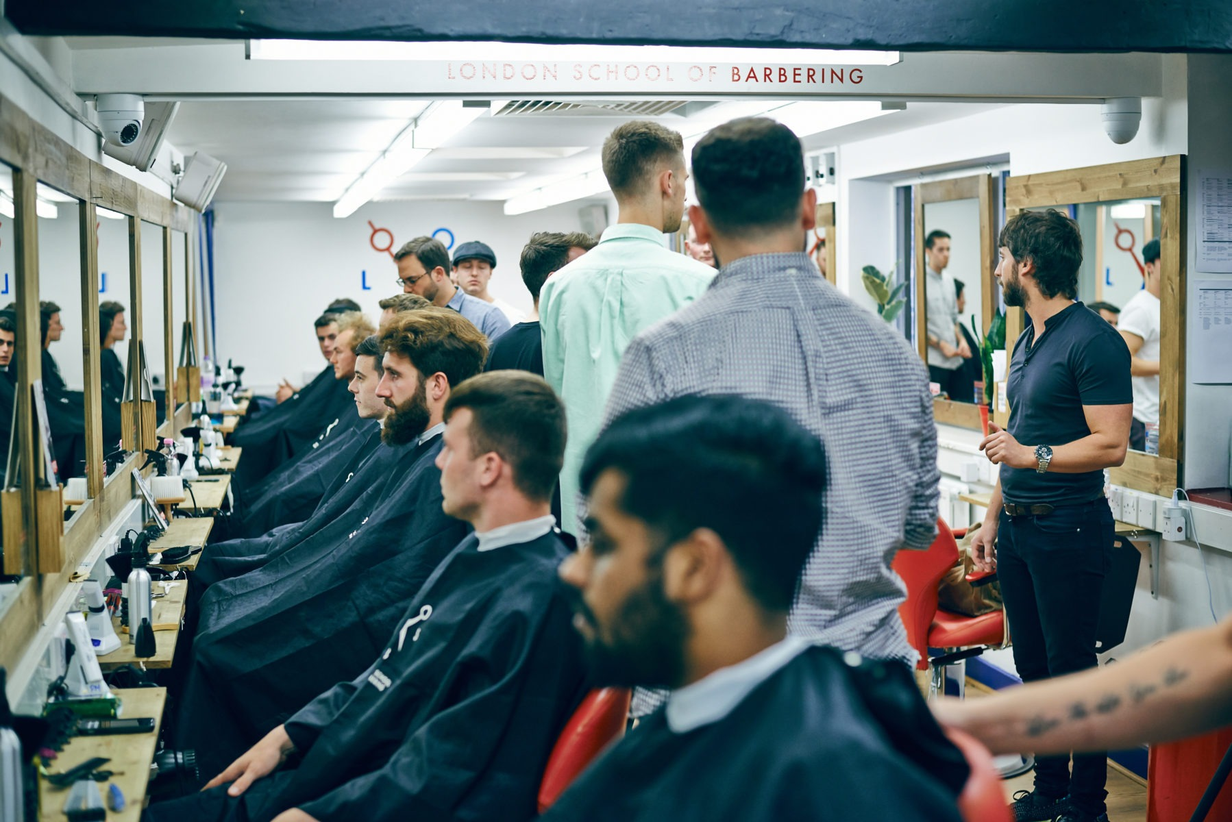 School Photos - The London School of Barbering
