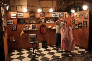 the following are a few popular themes along with some additional decorating tips - Barbershop Design Ideas