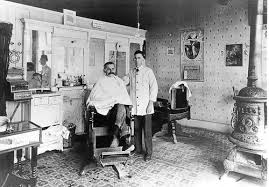 History of traditional barber shop the london school of for 1800 salon chicago