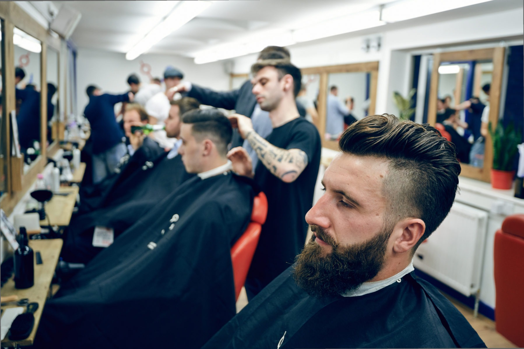 Academy Gallery The London School Of Barbering