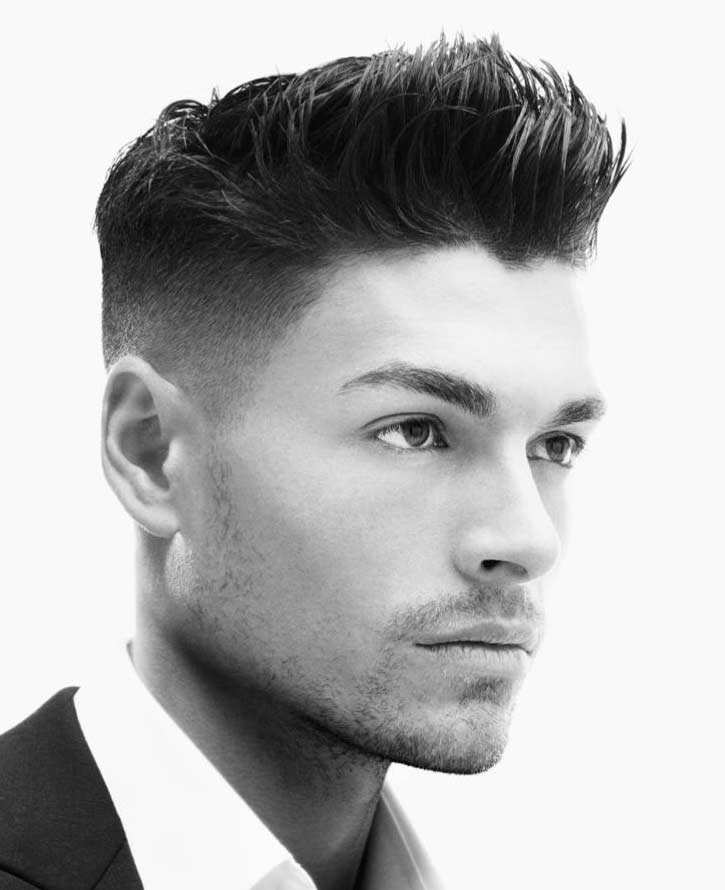 The skin fade the london school of barbering the look is advanced and entails very close hair on the sides back with variations of the fade height and style of hair on the top solutioingenieria Gallery