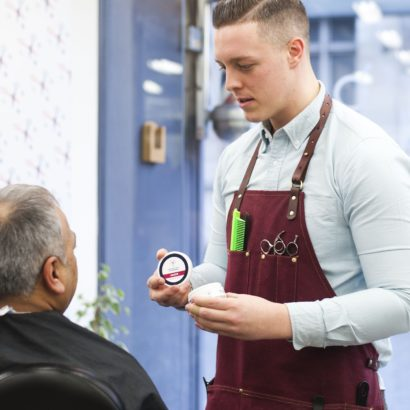 barber, barbering courses, hair care products