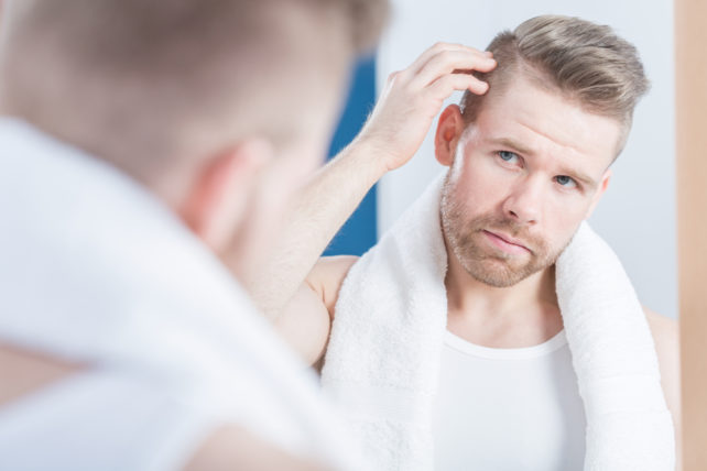 hair loss causes, hair loss cure, barber