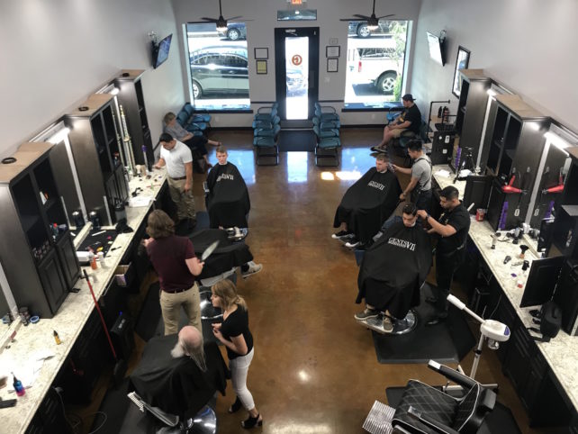 barber, intensive barbering courses